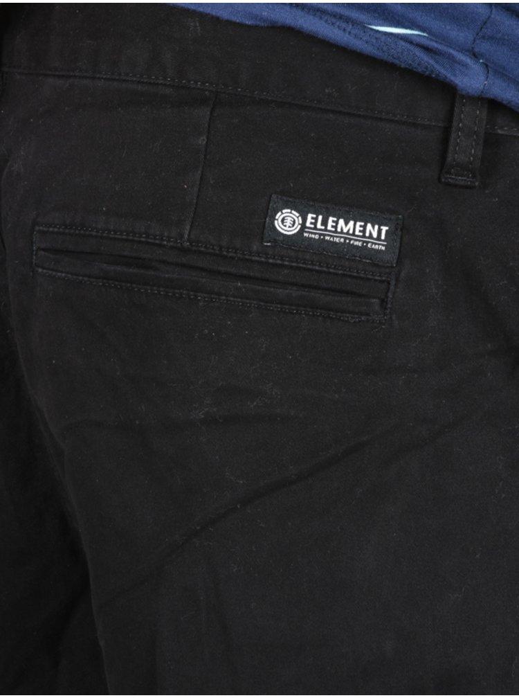Element HOWLAND CLASSIC black plátěné kraťasy pánské - černá