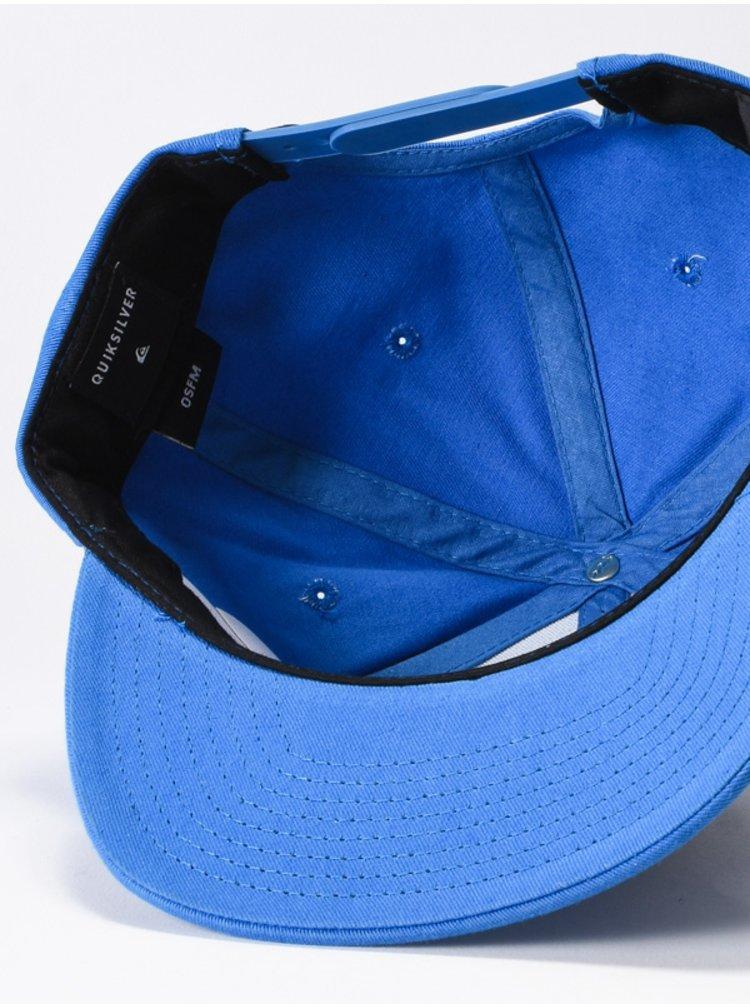 Quiksilver Starkness bijou blue kšiltovka s rovným kšiltem - modrá
