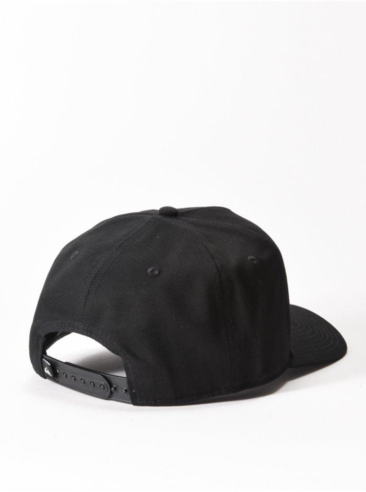Quiksilver WRANGLED UP black baseballová kšiltovka - černá