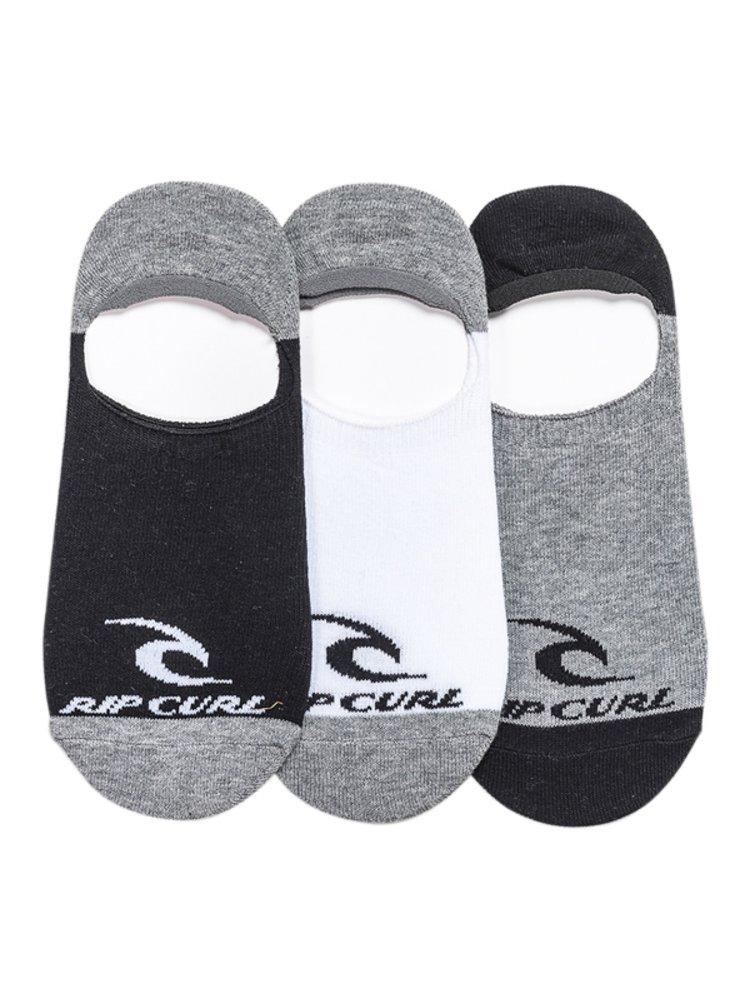 Rip Curl ICON INVISIBLE MULTICO kotníkové ponožky pánské - černá