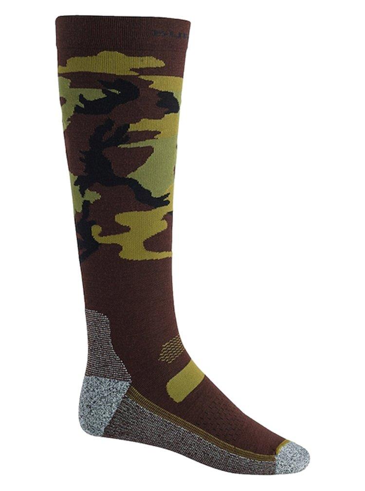 Burton PERFORMANCE UL CAMO pánské sportovní ponožky - hnědá