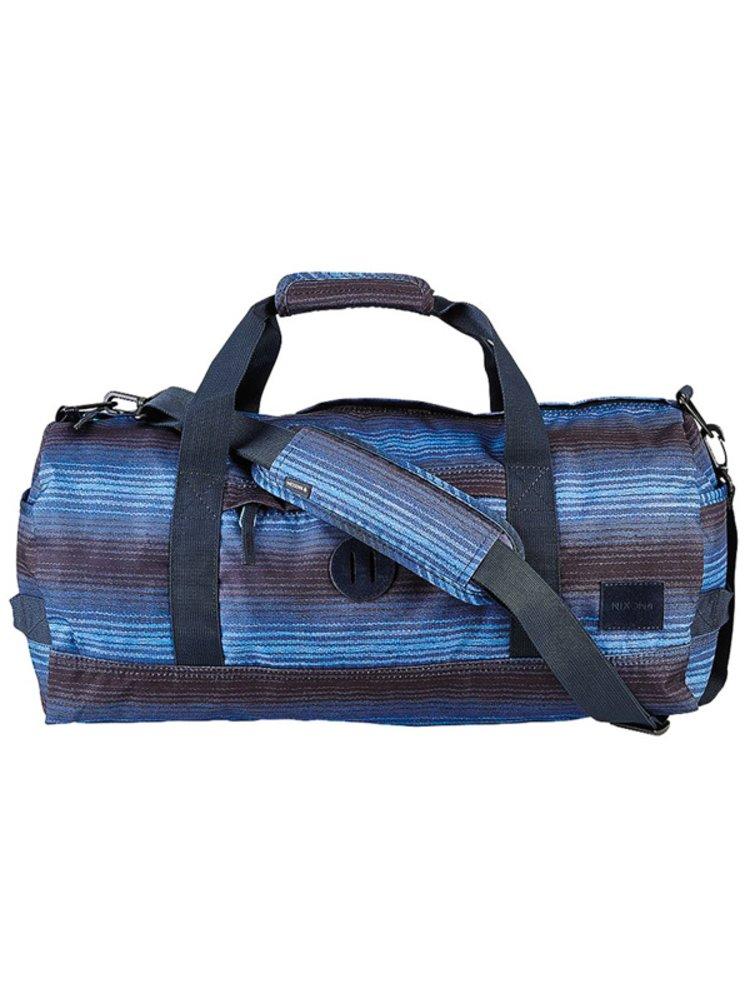 Nixon PIPES DUFFLE BLUEMULTI cestovní taška - modrá