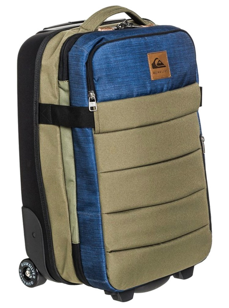 Quiksilver NEW HORIZON BURNT OLIVE kufr do letadla - zelená