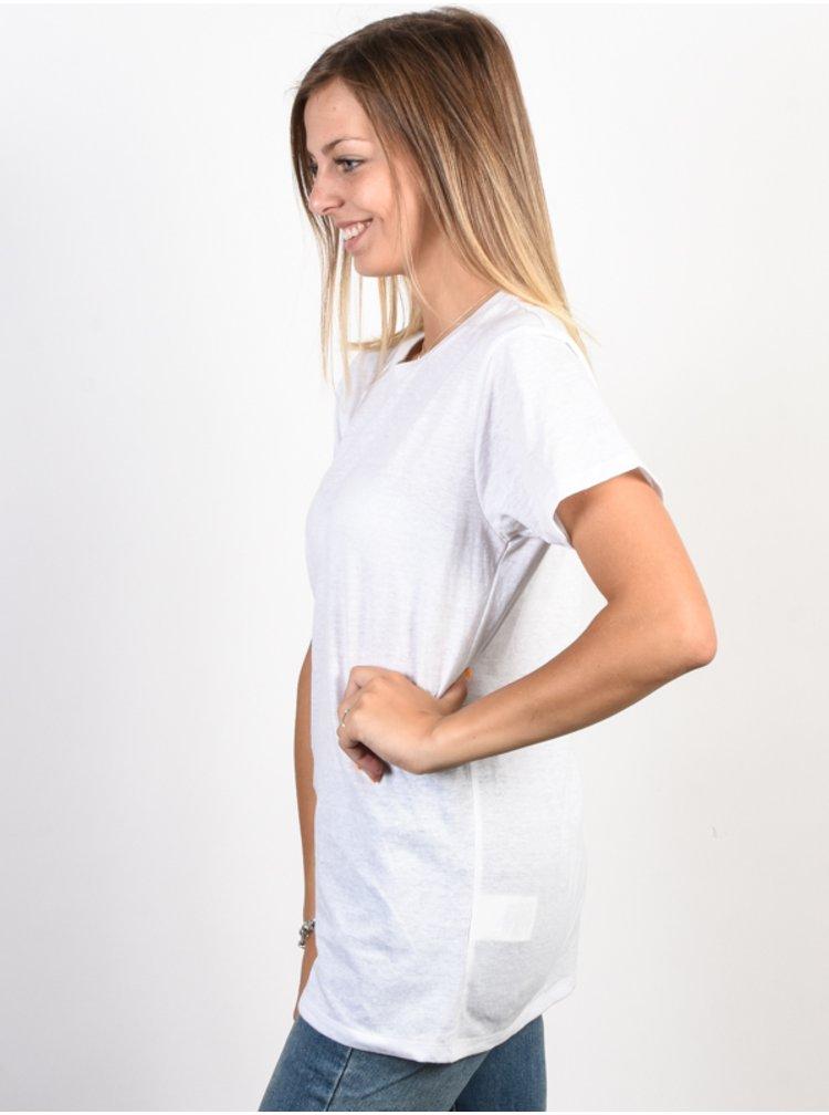 Element LIVIN white dámské triko s krátkým rukávem - bílá
