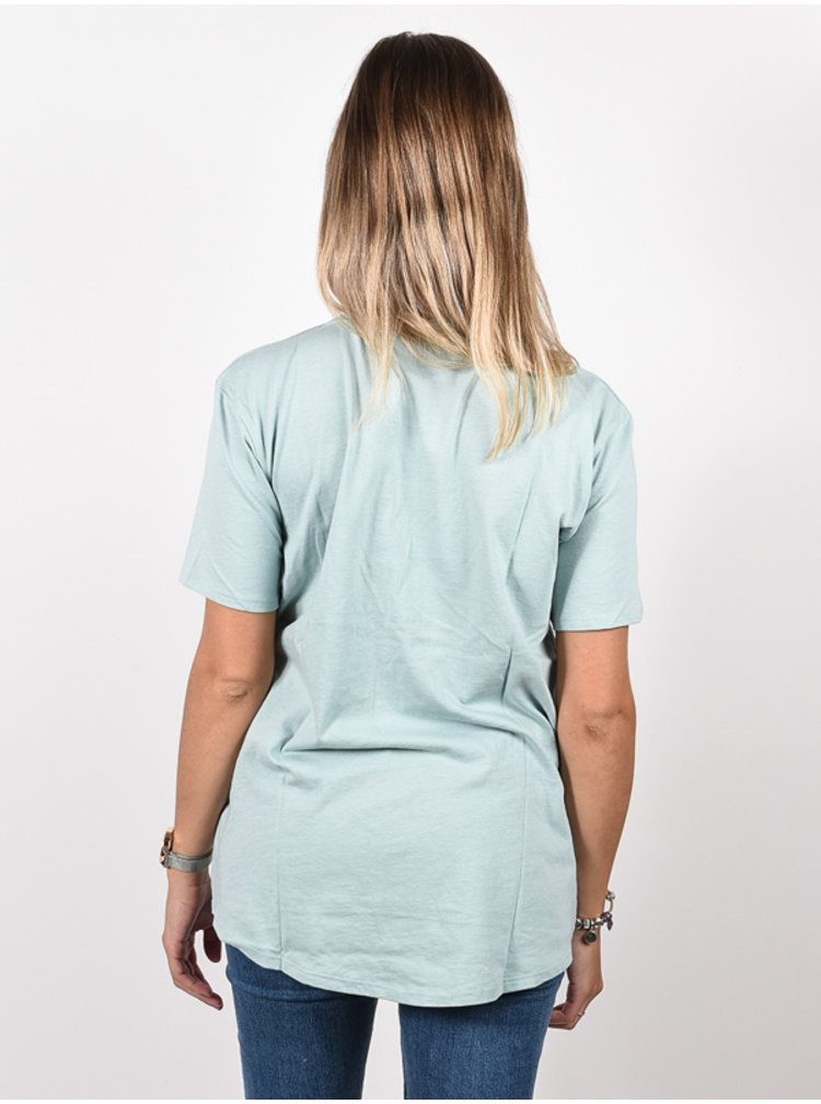 Burton ASHMORE SCOOP ETHER BLUE dámské triko s krátkým rukávem - modrá