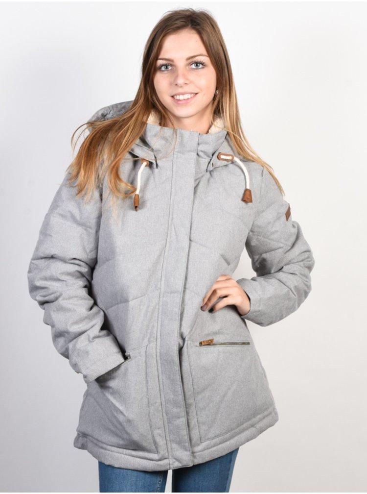 Roxy NANCY HERITAGE HEATHER zimní dámská bunda - šedá