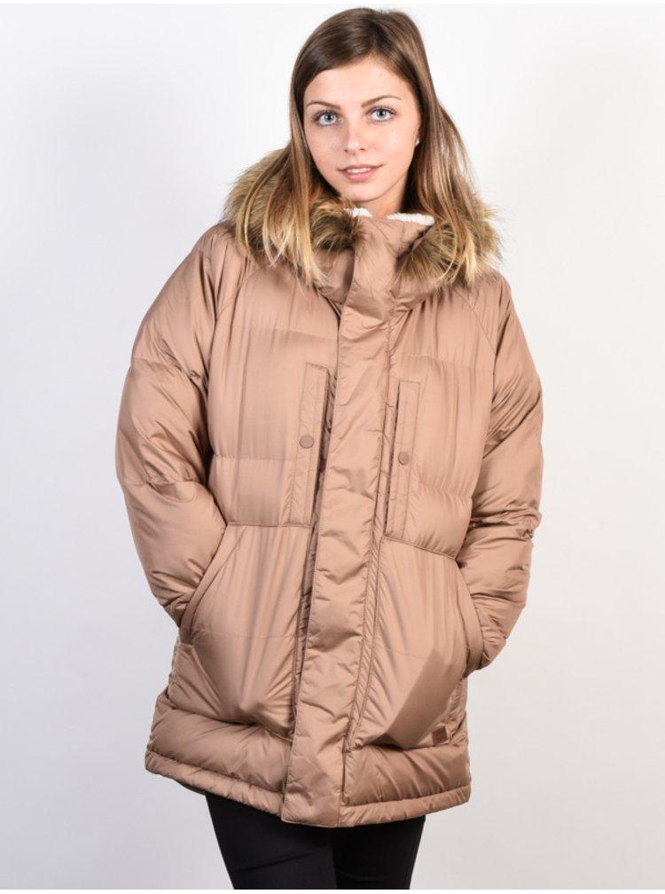Burton VALLAH BROWNIE zimní dámská bunda - hnědá