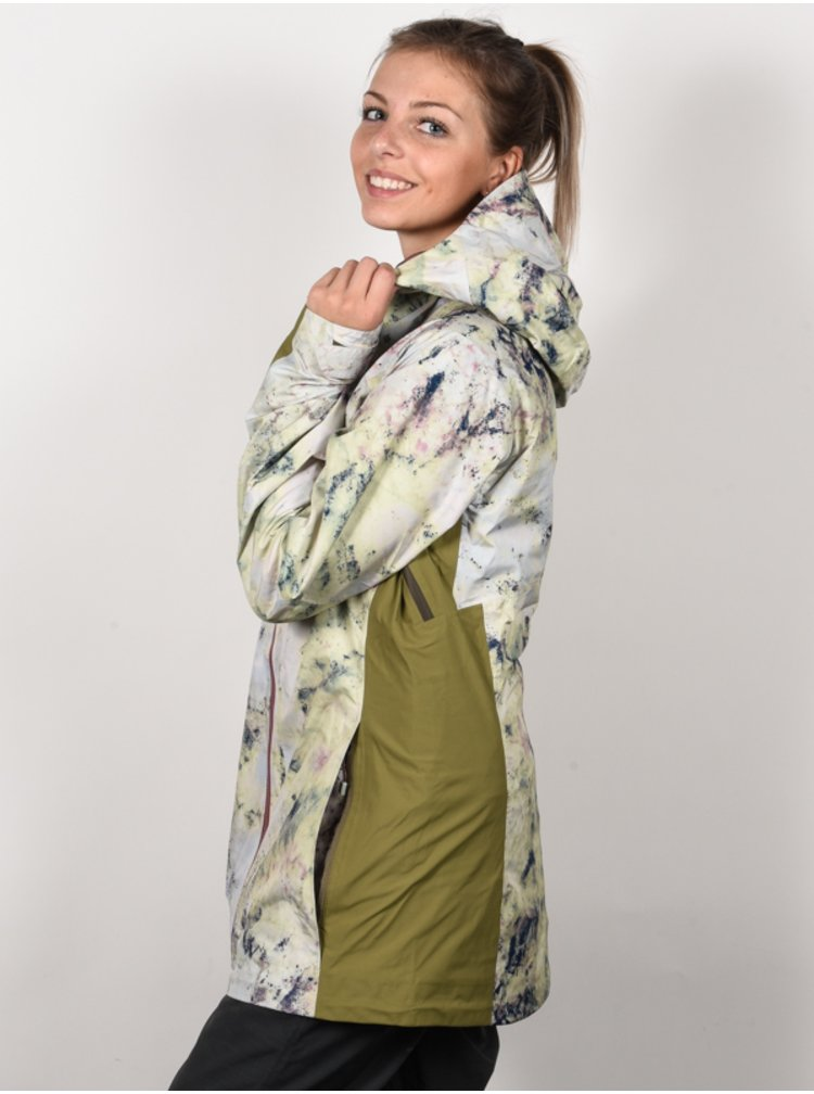 Burton AK GORE UPSHIFT SDAPT/MRTINI zimní dámská bunda - šedá