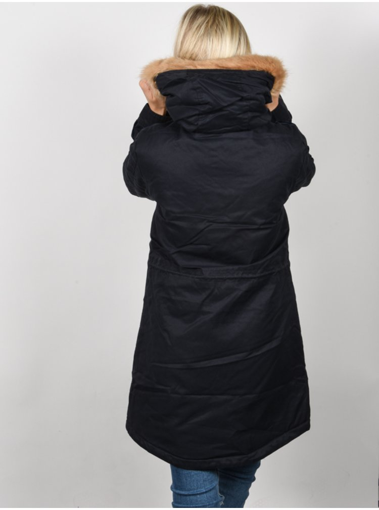 Rip Curl RACER PARKA BLUE GRAPHITE zimní dámská bunda - černá