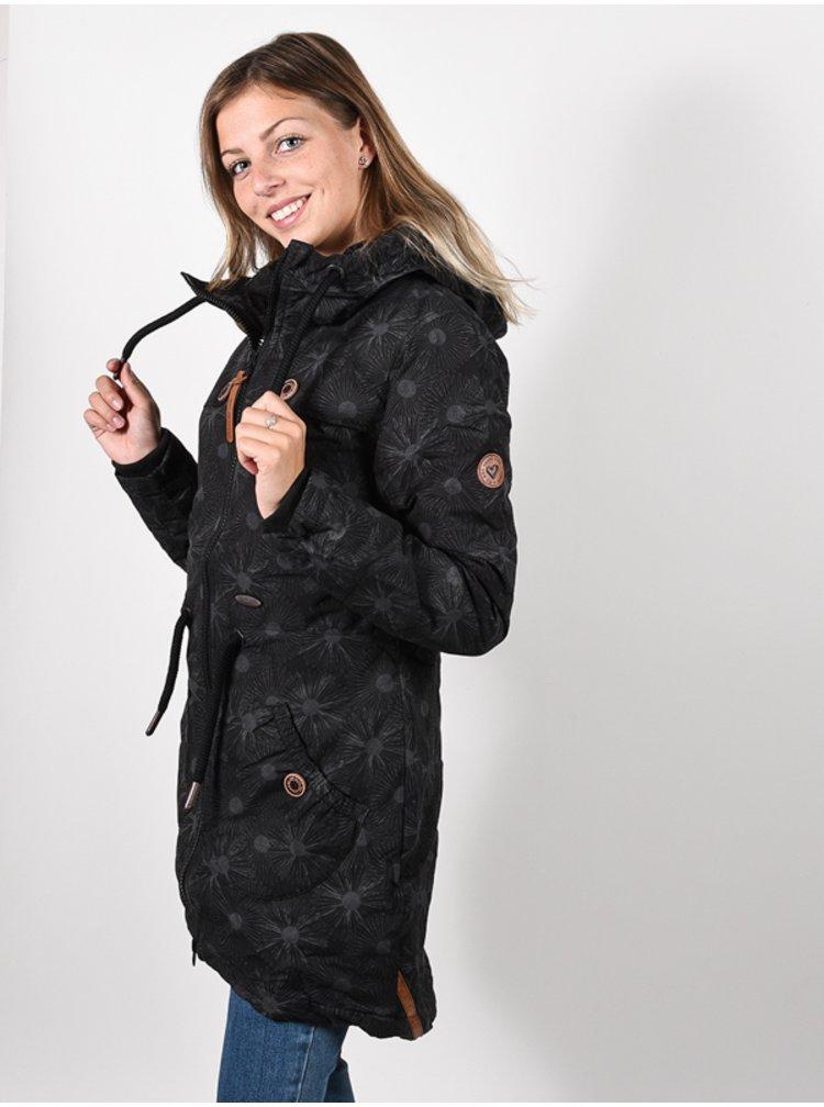Alife and Kickin CharlotteAK A MOONLESS zimní dámská bunda - černá