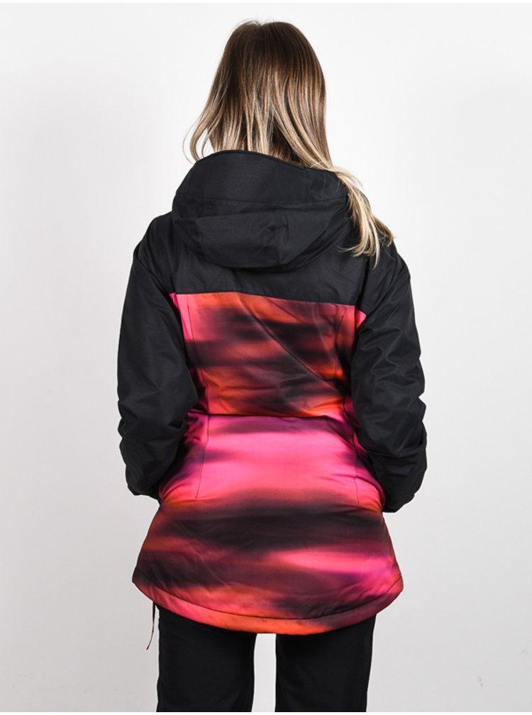 Volcom Bolt Ins BRIGHT PINK zimní dámská bunda - černá