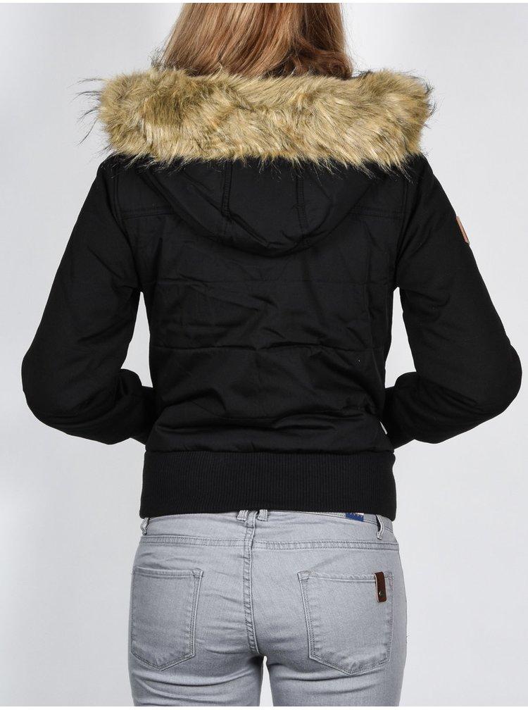 Element IRIS black podzimní bunda pro ženy - černá
