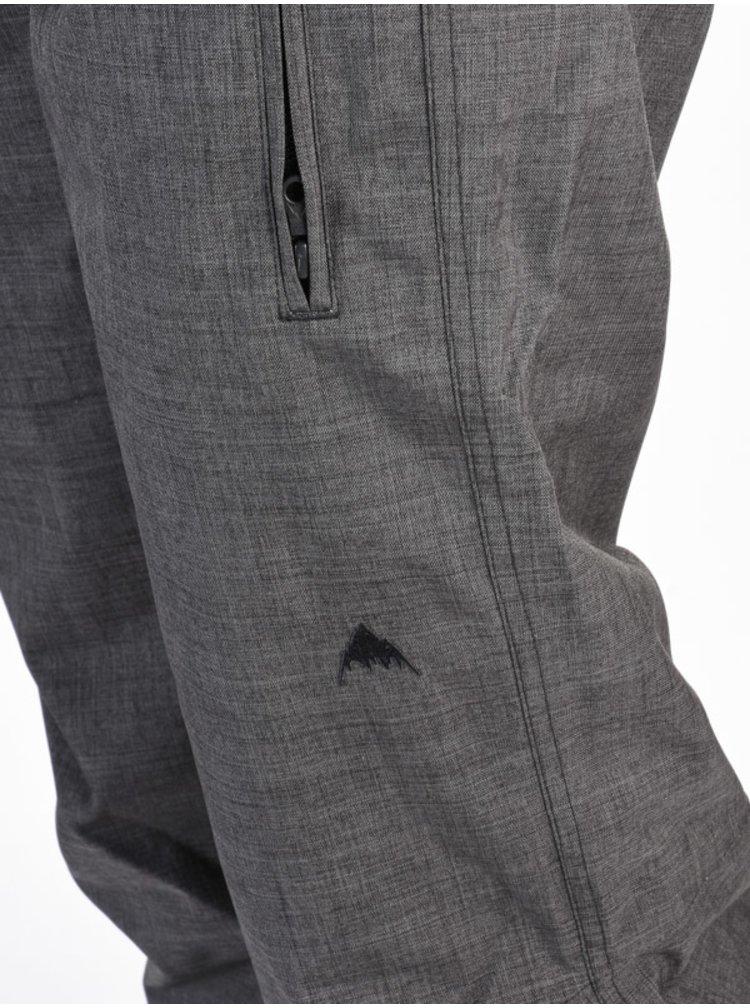 Burton TALL FLY TRUE BLACK HEATHER dámské zimní kalhoty - šedá