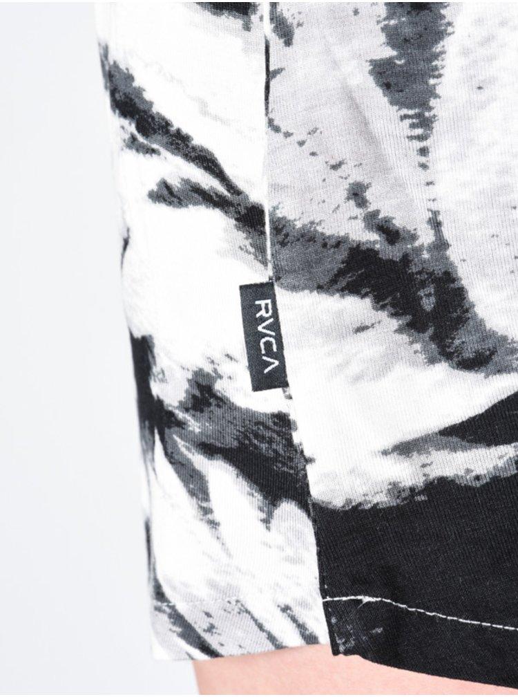 RVCA MINGLE Vintage White plátěné kraťasy dámské - černá