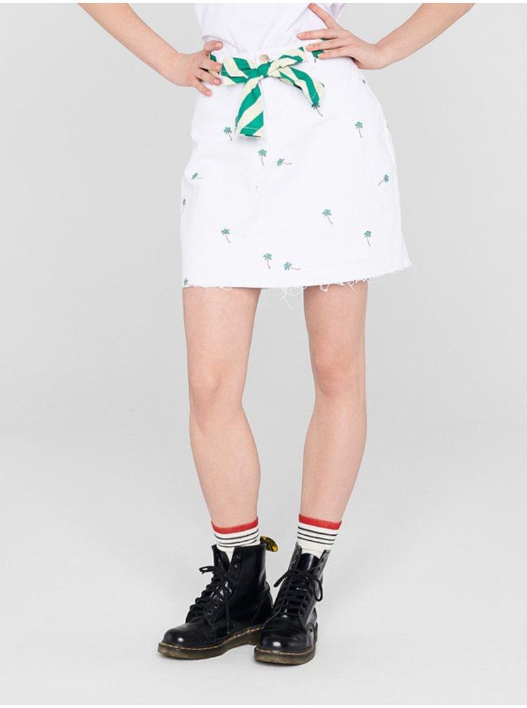 Femi Stories LIMA WHT krátká sukně - bílá