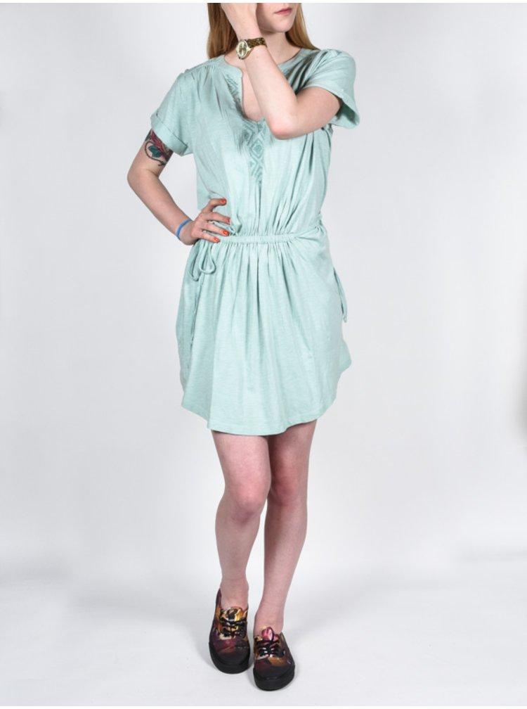 Roxy LUCKY BFR0 krátké letní šaty - šedá