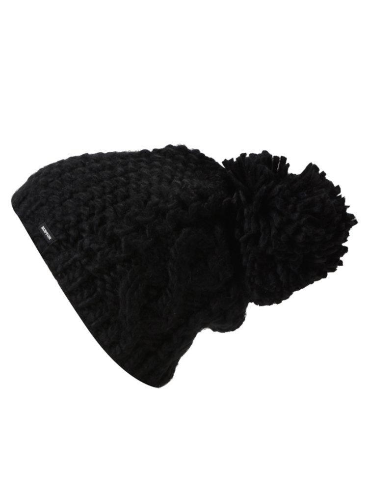 Burton KATIE JOE TRUE BLACK dámská čepice - černá