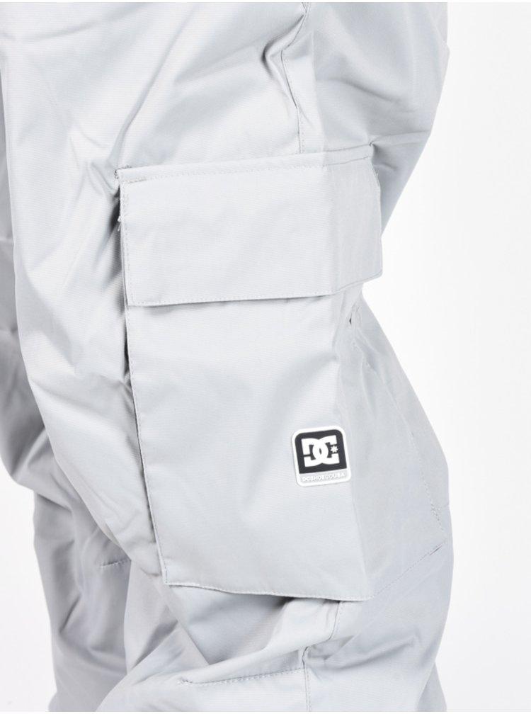 Dc BANSHEE NEUTRAL GRAY lyžařské kalhoty pánské - šedá
