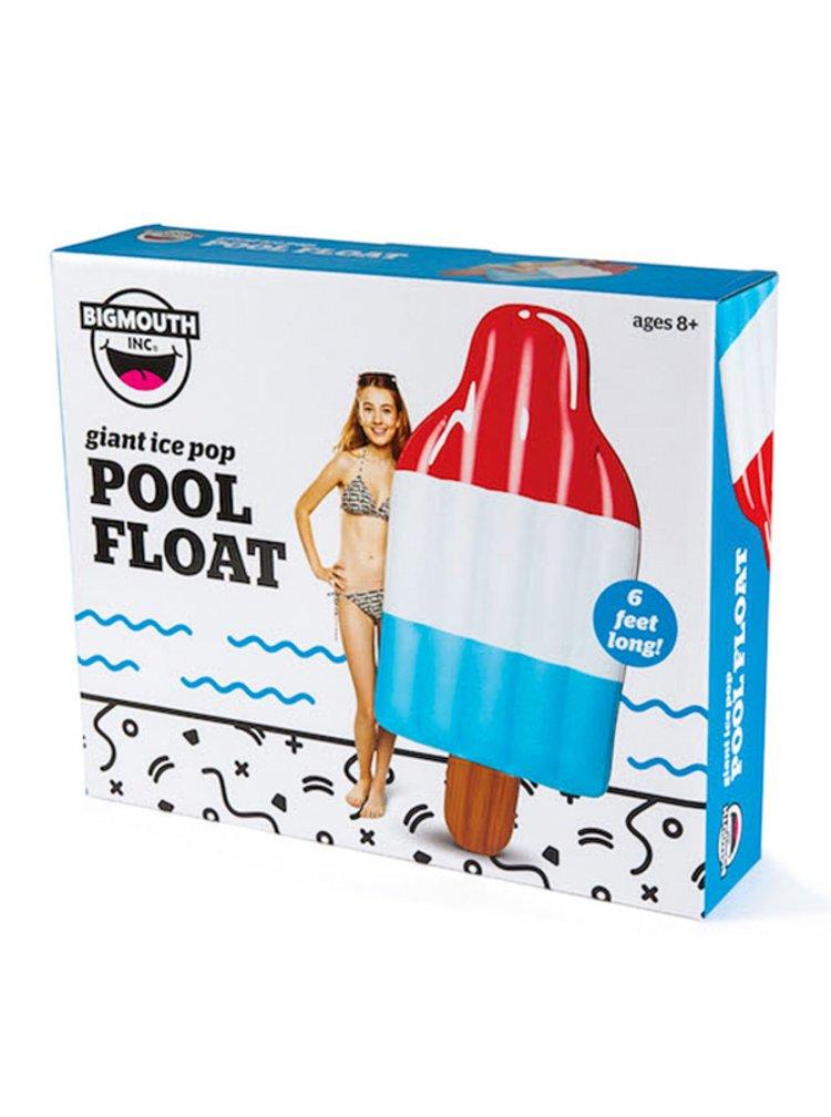 Big Mouth Inc. FLOAT ICE POP nafukovačka - modrá