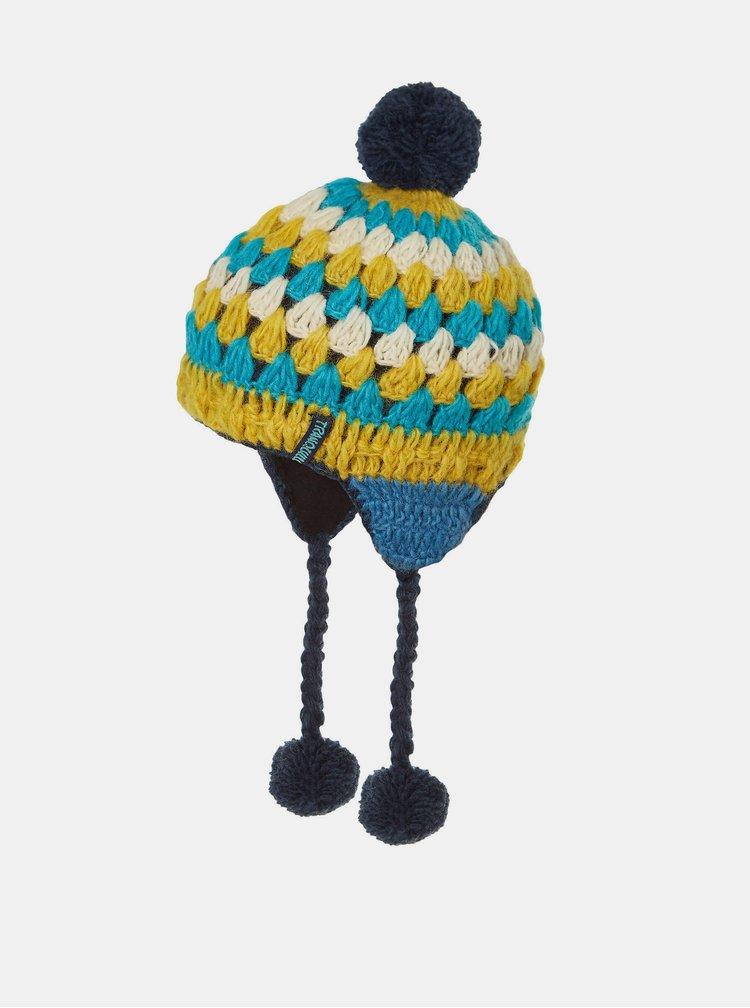 Palarii, sepci, caciuli pentru femei Tranquillo - albastru, galben