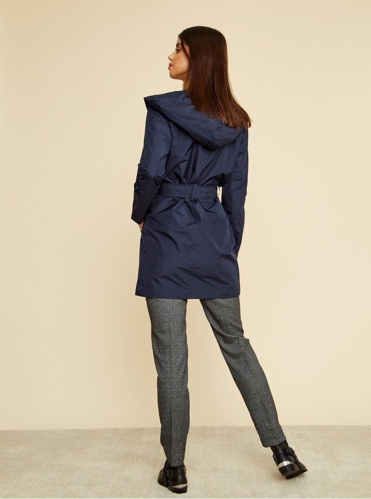 Trenciuri si paltoane subtiri pentru femei ZOOT - albastru inchis