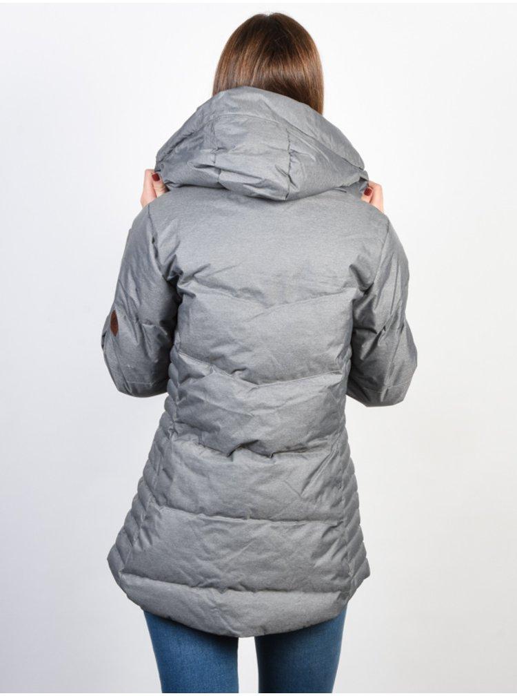 Rip Curl CHERHILL  CEMENT MARLE zimní dámská bunda - šedá