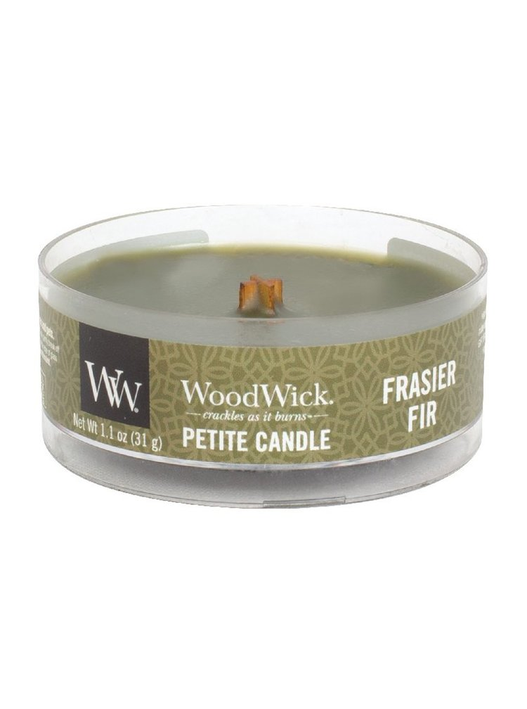 WoodWick vonná svíčka Petite Frasier Fir