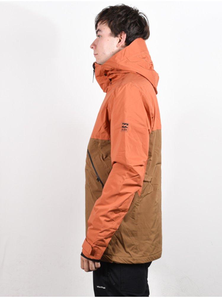 Billabong EXPEDITION AUBURN zimní pánská bunda - hnědá