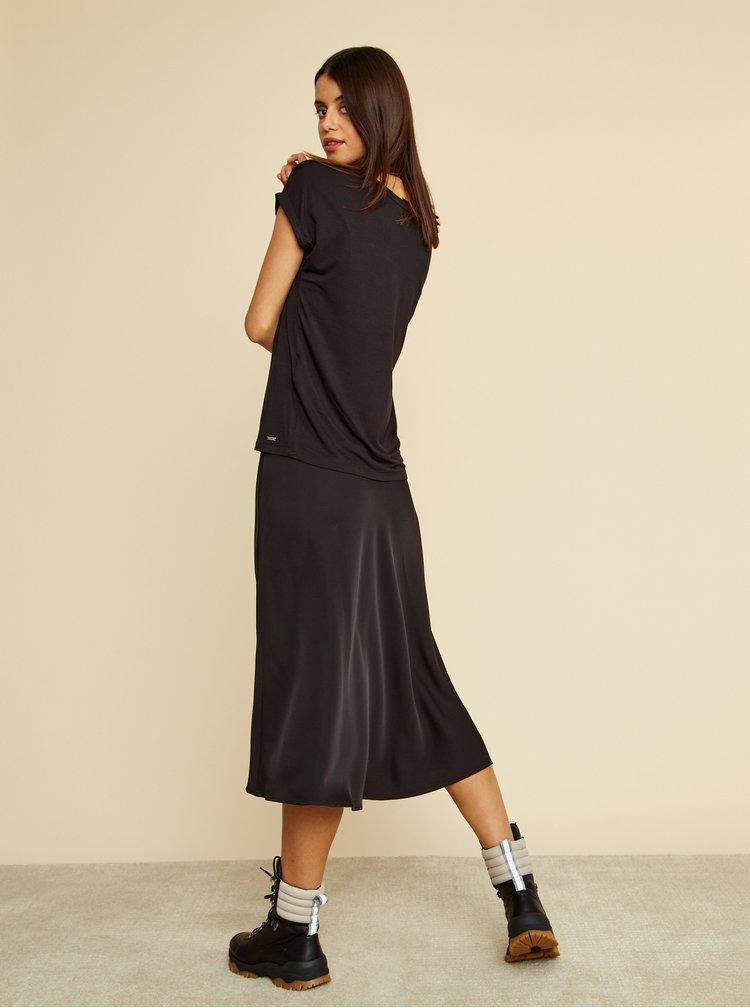 Černé dámské volné basic tričko ZOOT Baseline Adriana 2