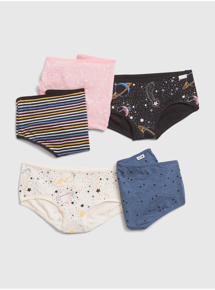 Barevné holčičí kalhotky GAP