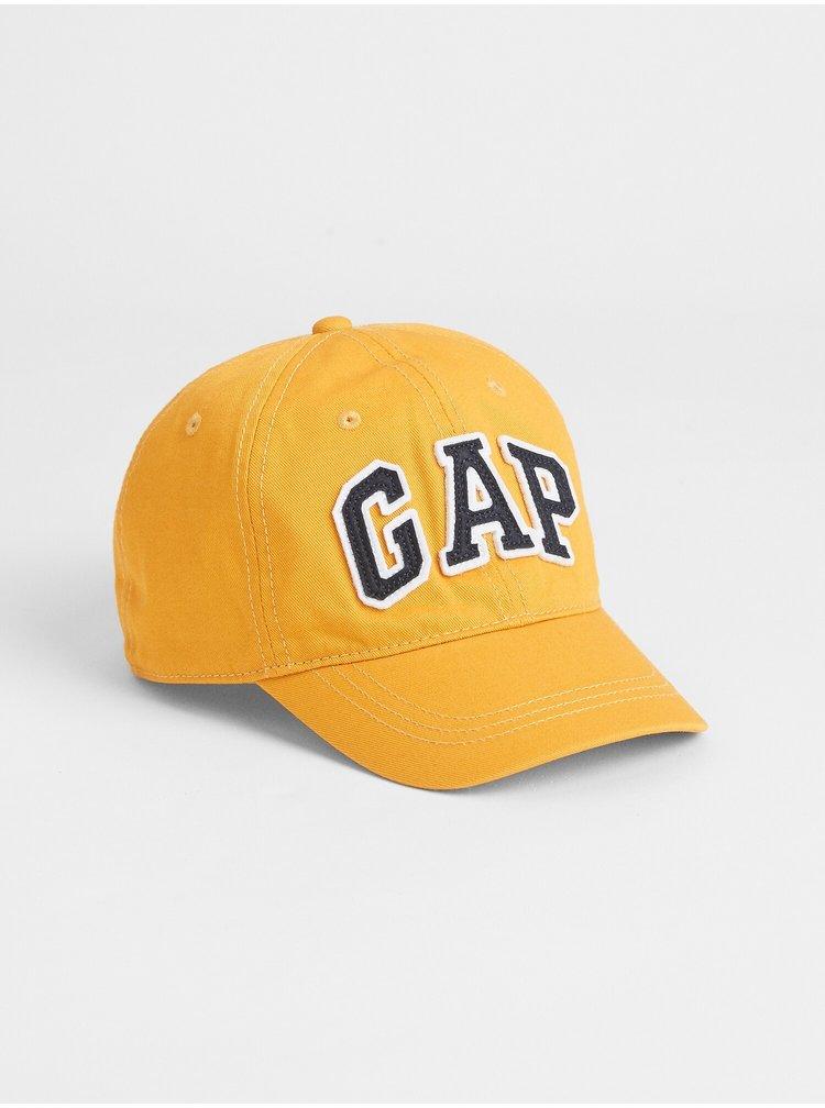 Žlutá klučičí kšiltovka GAP