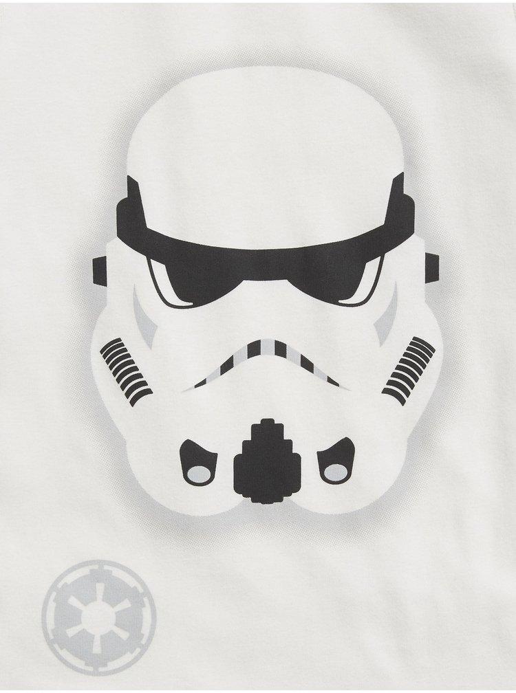 Bílé klučičí pyžamo GAP StarWars