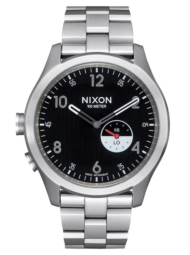 Nixon BEACON black analogové sportovní hodinky - černá