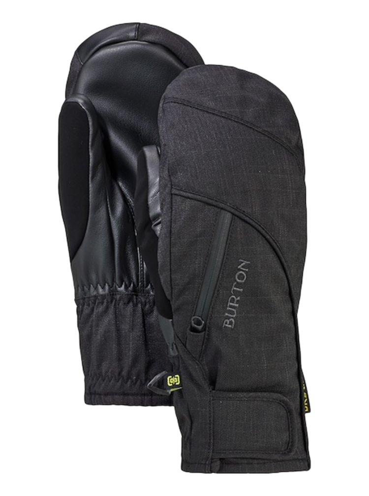 Burton BAKER 2 IN 1 UNDMTT TRUE BLACK zimní palcové rukavice - černá