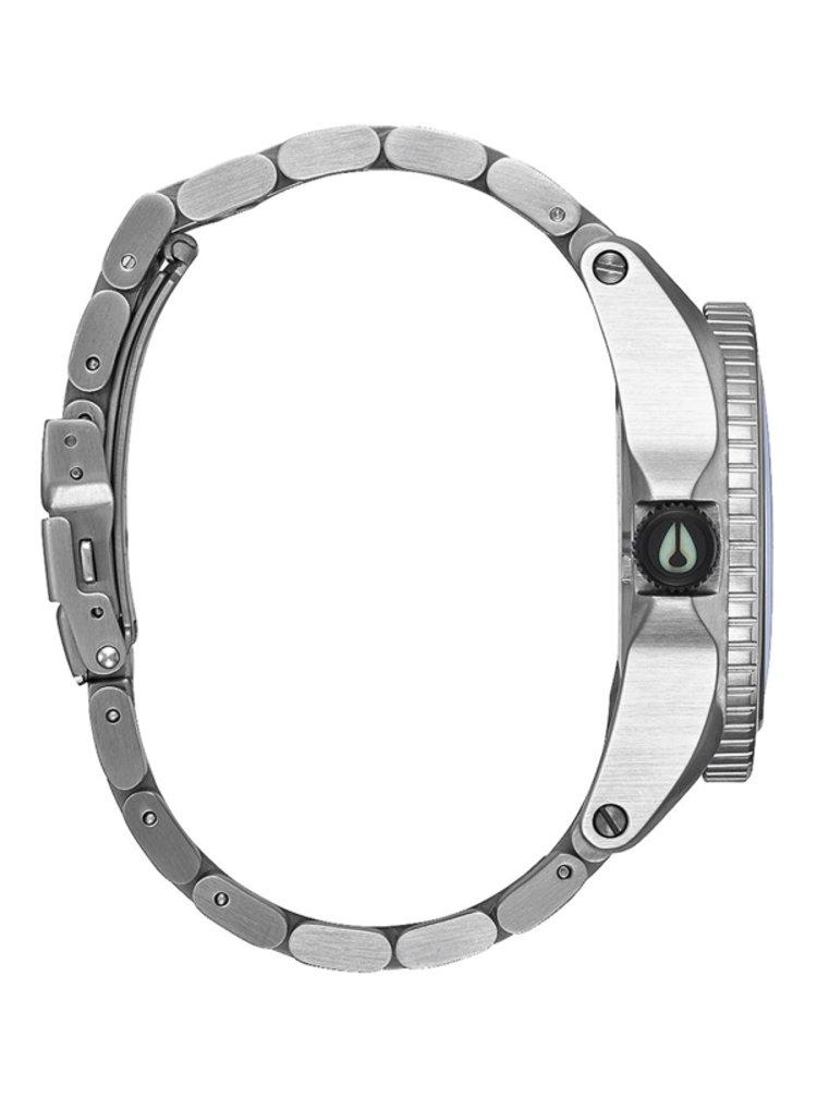 Nixon DESCENDER BLACKMULTI analogové sportovní hodinky - černá