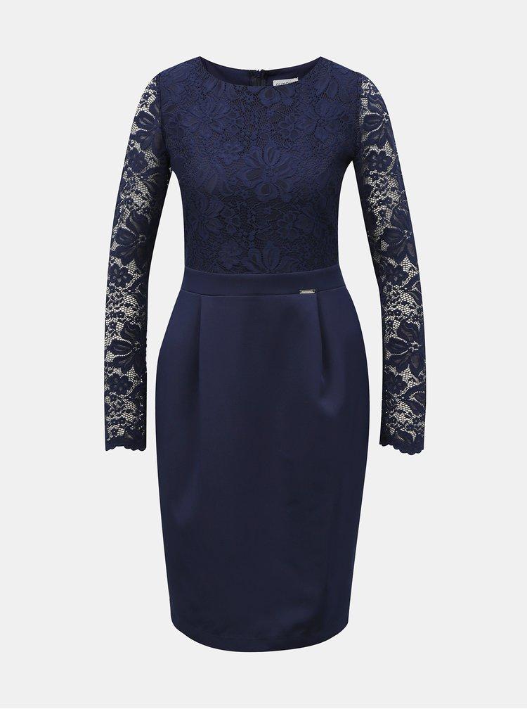 Rochii de seara pentru femei numoco - albastru inchis