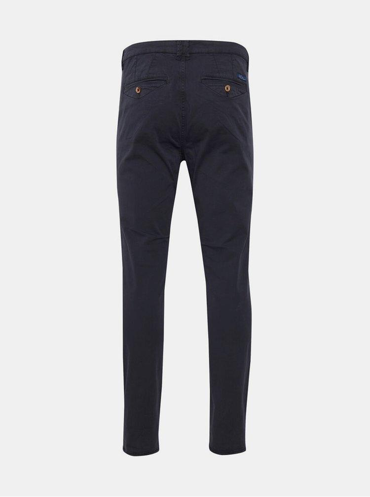 Pantaloni chino pentru barbati Blend - albastru inchis