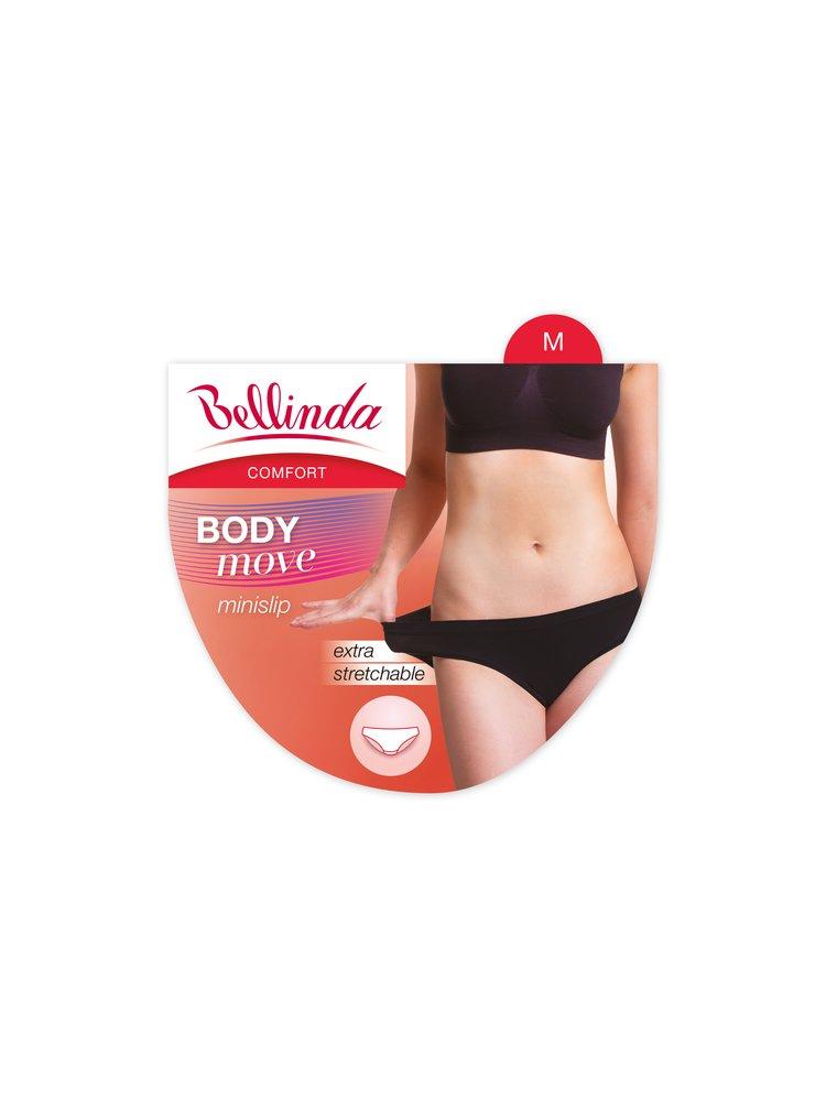 Dámské kalhotky BODY MOVE MINISLIP - Dámské extra elastické kalhotky - růžová