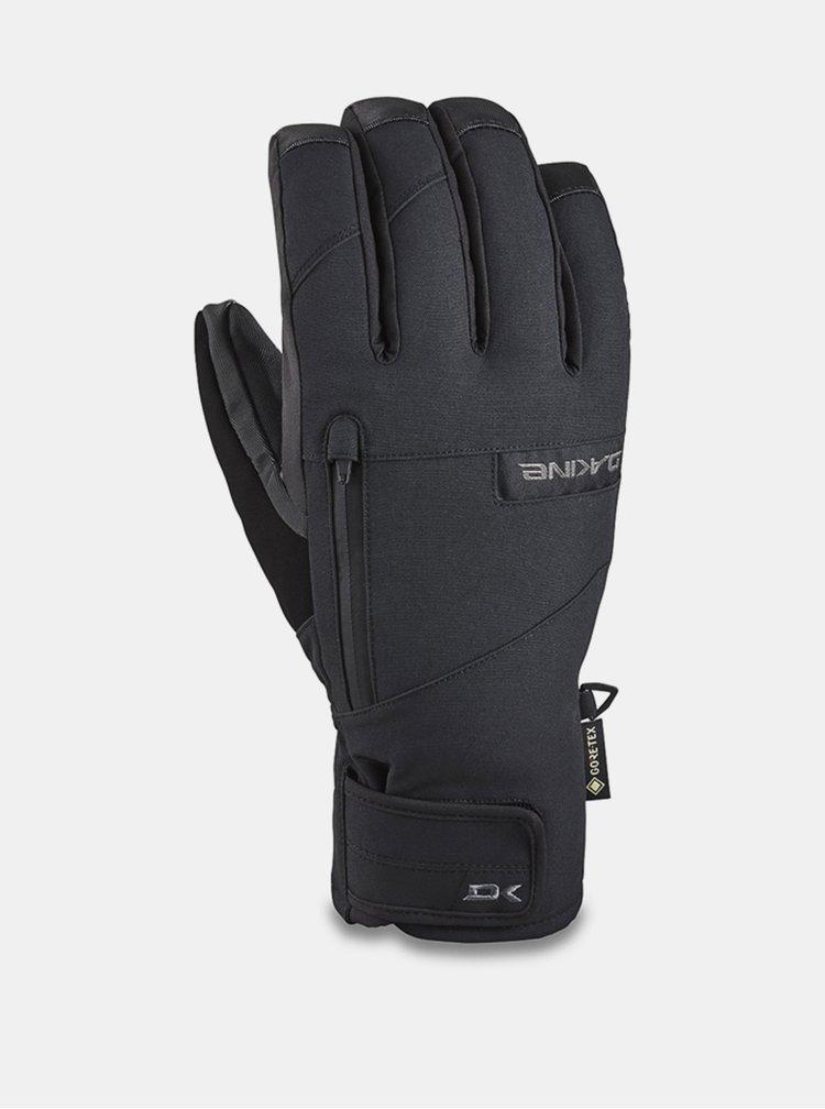 Dakine TITAN SHORT black pánské zimní prstové rukavice - černá