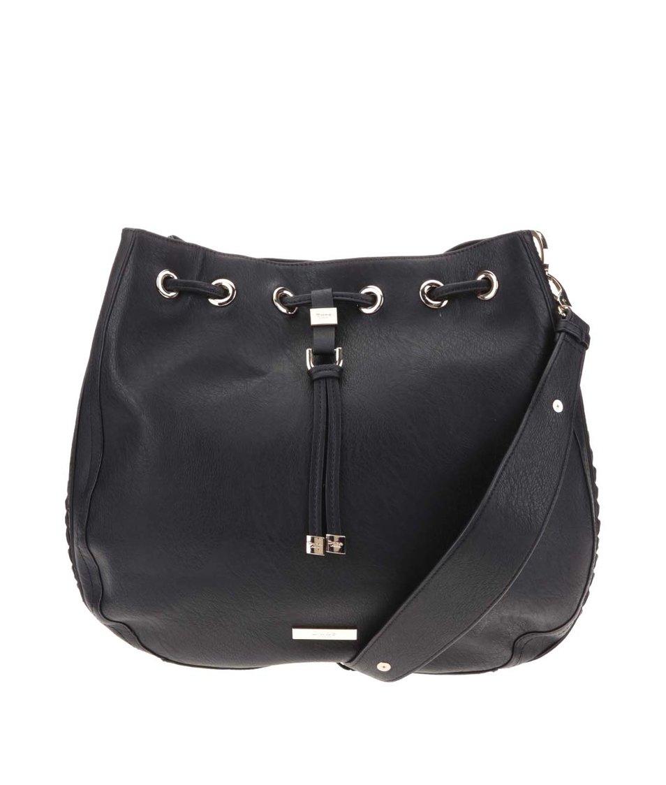 Čierna sťahovacia kabelka Dune London Dollianna