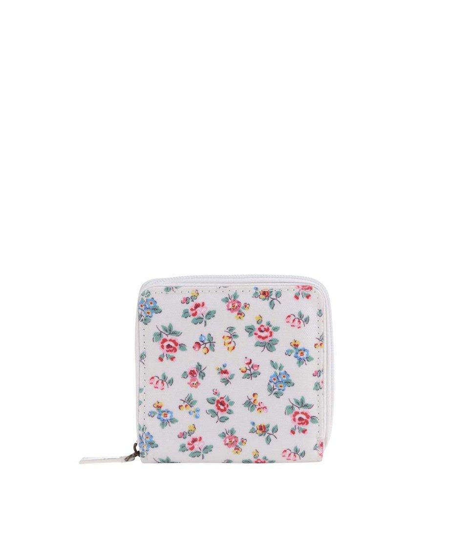 Biela kvetinová peňaženka Cath Kidston