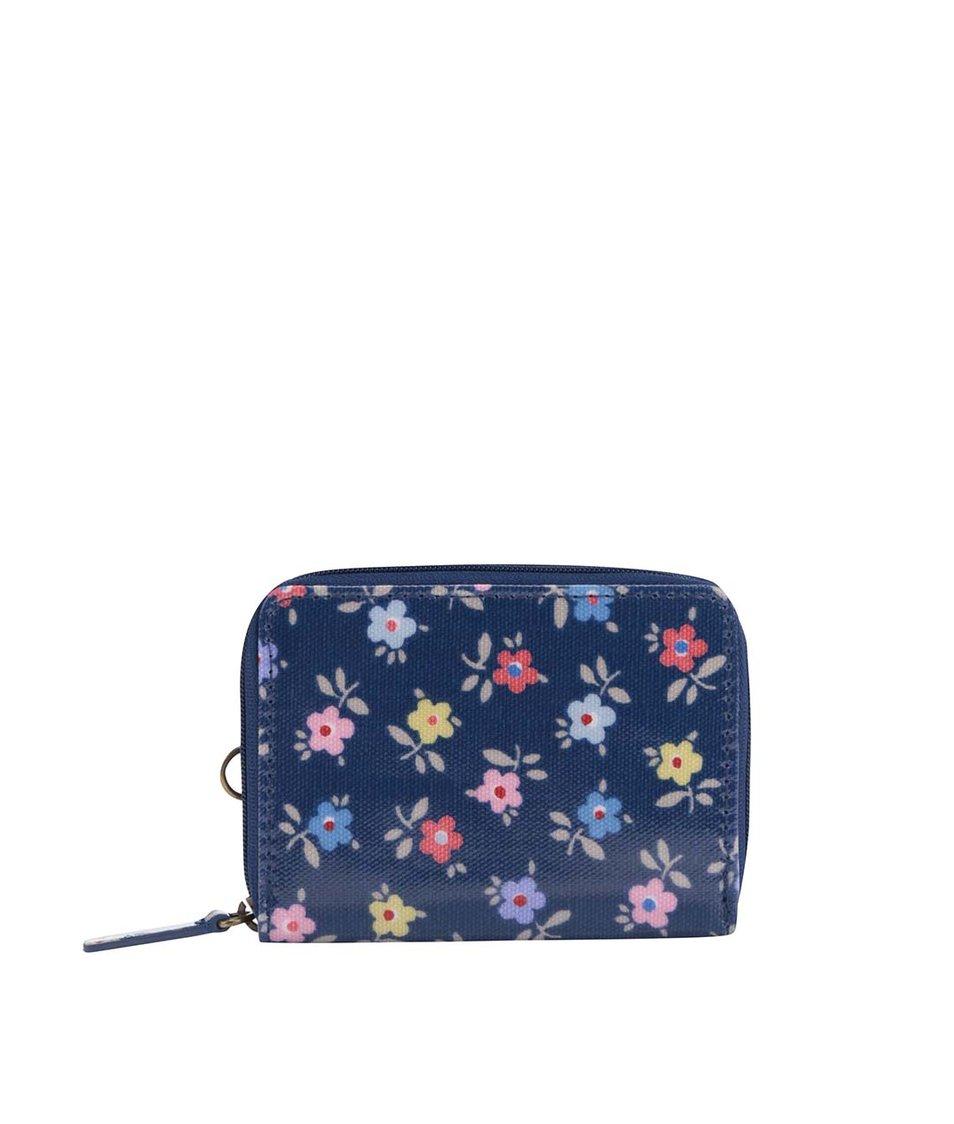 Modrá kvetinová malá peňaženka Cath Kidston
