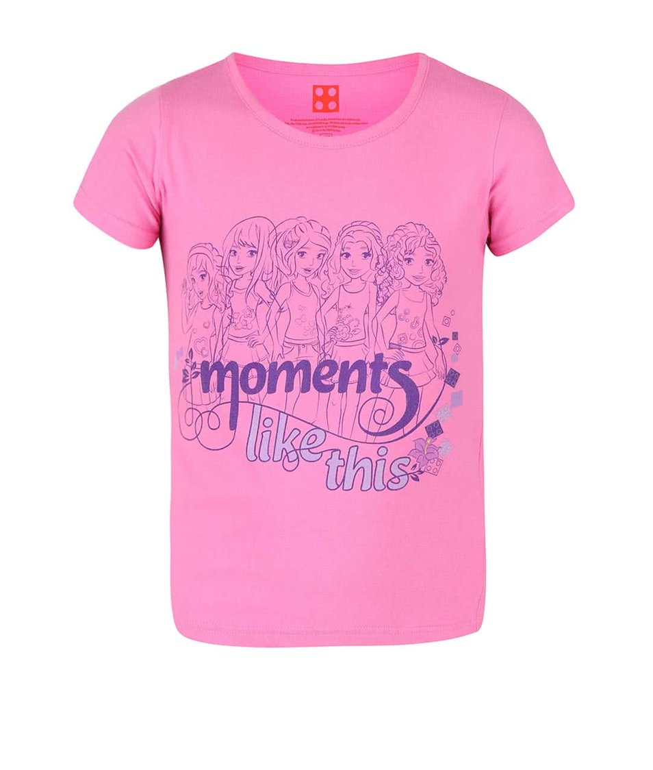 Žltozelené dievčenské tričko s potlačou Blue Seven Fashion Gang