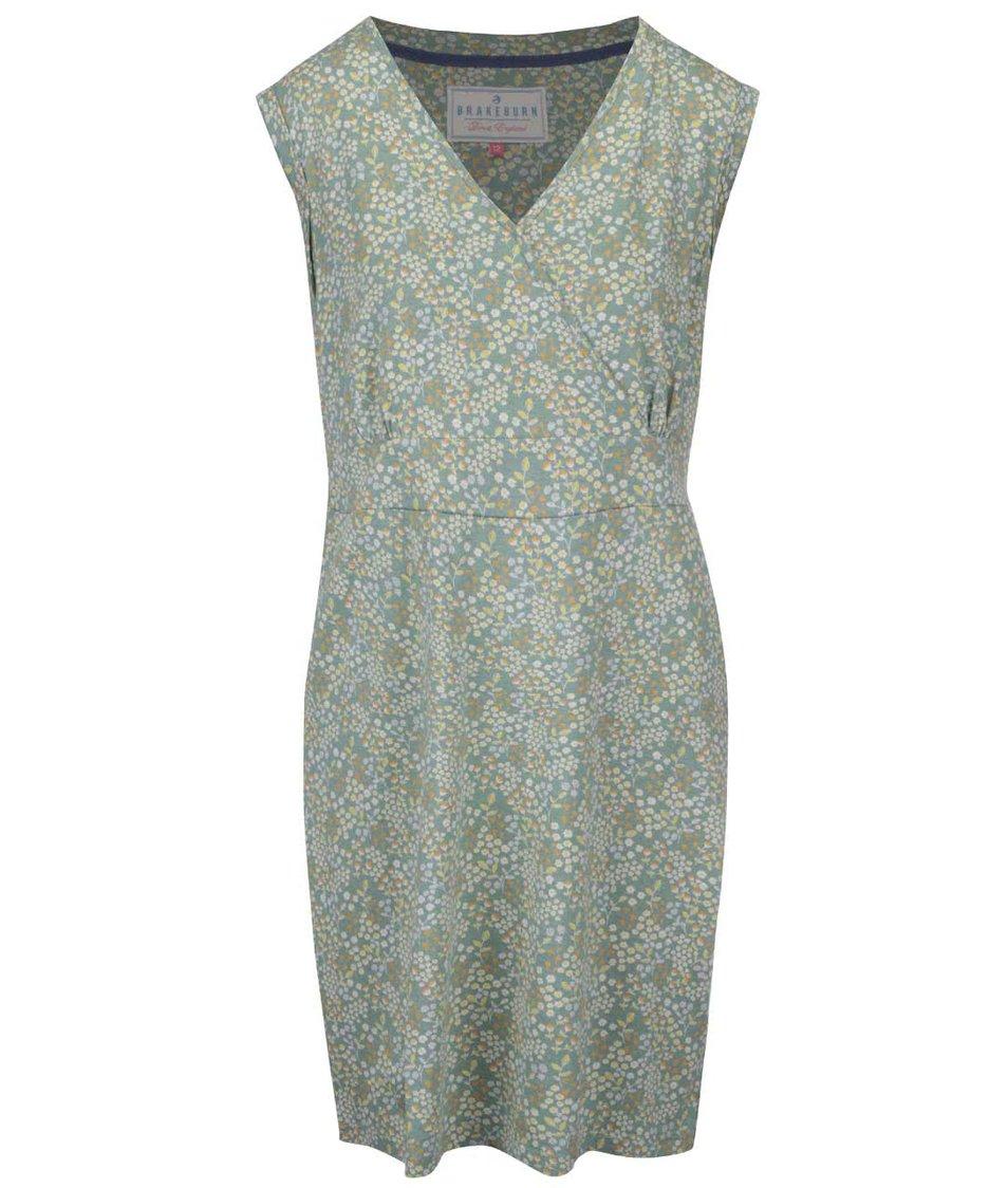 Zelené vzorované šaty Brakeburn Floral