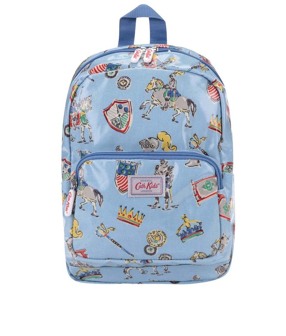 Modrý detský batoh s rytiermi Cath Kidston