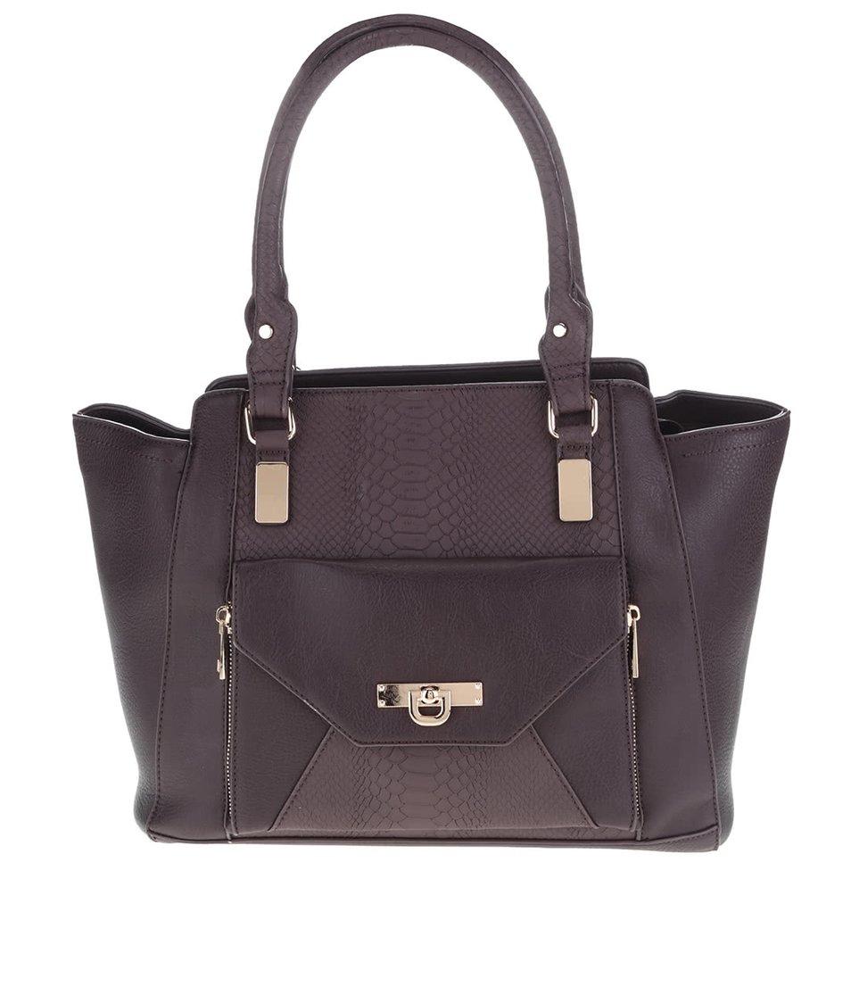 Tmavovínová kabelka Miss Selfridge