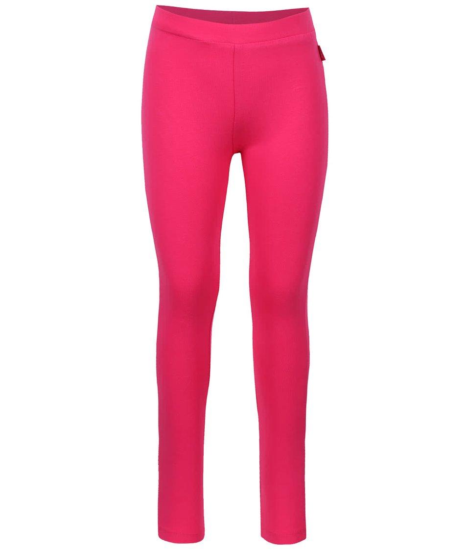 Ružové dievčenské legíny s potlačou hviezd Cars Jeans Glyn