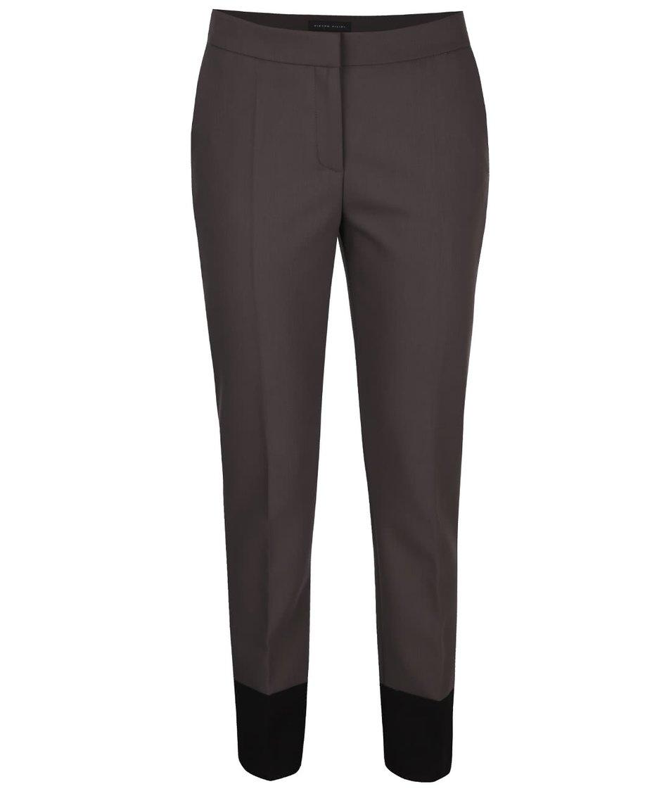 f771a6239 Sivé dámske nohavice s pukmi Pietro Filipi