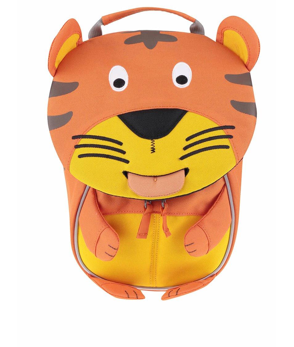 Oranžový batôžtek v tvare tigra Affenzahn