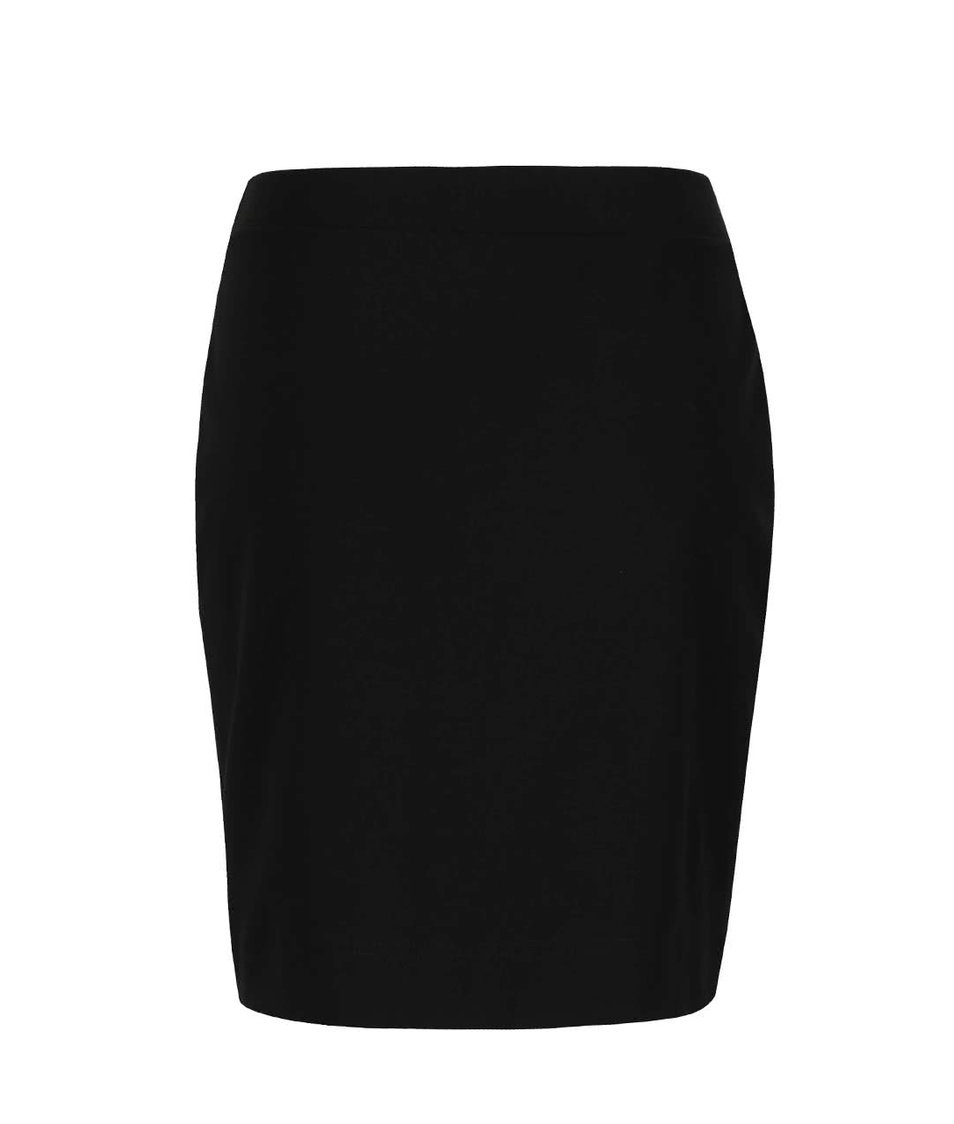 Čierna sukňa s rozparkom Jana Minaříková Original Myself